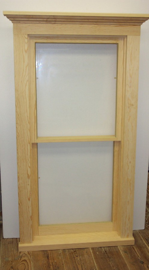 Lickteig Double Hung Window With Sash Spring Bolts